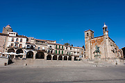 Trujillo main square (Spain)