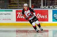 KELOWNA, BC - NOVEMBER 1: Matéj Toman #15 of the Prince George Cougars warms up against the Kelowna Rockets  at Prospera Place on November 1, 2019 in Kelowna, Canada. (Photo by Marissa Baecker/Shoot the Breeze)