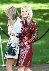 Poppy Delevingne leaving the LFW: Burberry Prorsum - s/s 2014 catwalk show at Kensington Gardens, Kensington Gore in London, UK. 16/09/2013<br />