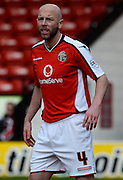 Walsall's Jamie O'Connor during the Sky Bet League 1 match between Walsall and Milton Keynes Dons at the Banks's Stadium, Walsall, England on 14 March 2015. Photo by Alan Franklin.