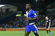 Abu Ogogo (4) of Bristol Rovers during the EFL Cup match between Bristol Rovers and Brighton and Hove Albion at the Memorial Stadium, Bristol, England on 27 August 2019.