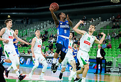 Rashun Jarrel Davis of Rogaska during basketball match between KK Petrol Olimpija and KK Rogaska in Round #5 of Liga Nova KBM za prvaka 2018/19, on March 31, 2019, in Arena Stozice, Ljubljana, Slovenia. Photo by Vid Ponikvar / Sportida