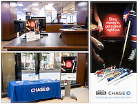 Chase ad campaign, 2011.