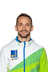 Saso Bertoncelj at official photoshoot of Slovenian Gymnastics team prior to 2018 Koper Challenge Cup, on May 14, 2018 in Gimnasticna dvorana, Ljubljana, Slovenia. Photo by Matic Klansek Velej / Sportida