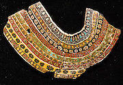"Ancient Egyptian glass collar. Corning Museum of Glass, New York, USA. The fascinating Corning Museum of Glass (CMOG.org) covers the art, history and science of glass, brought to life through live glassmaking demonstrations, offered all day, every day. The not-for-profit museum was founded in 1951 by Corning Glass Works (now Corning Incorporated) and has a collection of more than 45,000 glass objects, some over 3500 years old, the ""world's best collection of art and historical glass."""