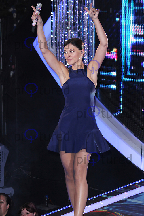 Emma Willis, Celebrity Big Brother Summer 2014 - Live Final, Elstree Studios, Elstree UK, 12 September 2014, Photo by Brett D. Cove