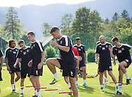 Darren O&rsquo;Dea and the Dundee squad got through their paces  - Day 2 of Dundee FC pre-season training camp in Obertraun, Austria<br /> <br />  - &copy; David Young - www.davidyoungphoto.co.uk - email: davidyoungphoto@gmail.com