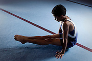 Belo Horizonte_MG, Brasil..Treinamento de Ginastica Olimpica no Minas Tenis Clube em Belo Horizonte, Minas Gerais...Gymnastics Training at Minas Tenis Club in Belo Horizonte, Minas Gerais... Foto: BRUNO MAGALHAES / NITRO
