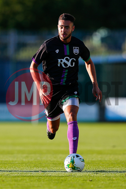 Derrick Williams of Bristol City in action - Mandatory byline: Rogan Thomson/JMP - 07966 386802 - 30/07/2015 - FOOTBALL - Huish Park Stadium - Yeovil, England - Yeovil Town v Bristol City - Pre Season Friendly.