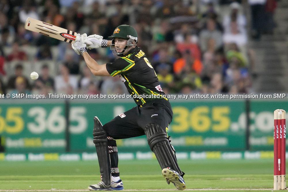 Australia v Sri Lanka - 2nd T20I, 28 January 2013