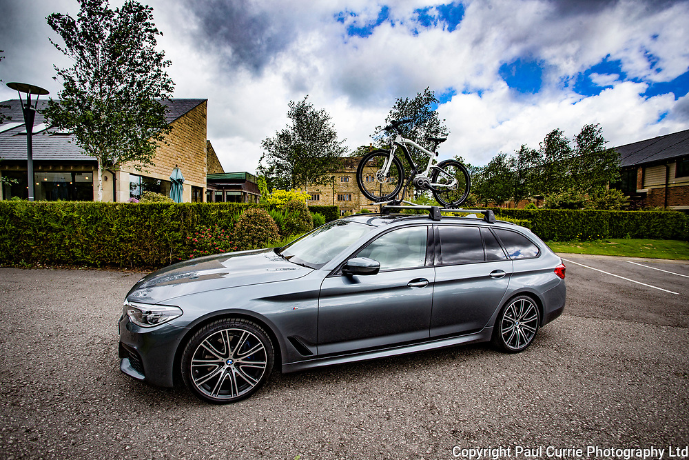 The new BMW 5 series Touring at Stanley House Hotel and Spa at Mellor Near Blackburn<br /> Pictures by Paul Currie<br /> www.paulcurriephotos.com<br /> 07796146931