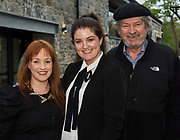 Marianne Ní Chinnéide (NUI Galway's O'Donoghue Centre) Loretta Ni Gabhain Lorgmedia and Paraic Breathnach Galway Arts Centre at the launch of The Galway Theatre Festival and the NUI Galway's O'Donoghue Centre for Drama, Theatre and Performance  . Photo:Andrew Downes, xposure