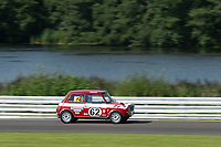 #62 Neil KAVANAGH British Leyland Mini 1275 GT  during HSCC Dunlop Saloon Car Cup  as part of the HSCC Oulton Park Gold Cup  at Oulton Park, Little Budworth, Cheshire, United Kingdom. August 24 2019. World Copyright Peter Taylor/PSP. Copy of publication required for printed pictures.