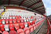 A general view inside the stadium prior to the Ladbrokes Scottish Premiership match between Hamilton Academical FC and Rangers at New Douglas Park, Hamilton, Scotland on 24 February 2019.