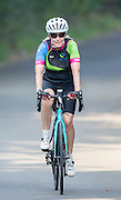 SURREY- UK -15th Sept 2016. HRH The Countess of Wessex on her final training ride before her charity cycle ride from the Palace of Holyroodhouse, Edinburgh to Buckingham Palace, London in support of The Duke of Edinburgh's Award in its 60th year. The Countess, who is a long-term supporter of the DofE, will cycle the 445 miles from Edinburgh to London over seven days. The Countess will undertake the ride as her 'Diamond Challenge' – a special initiative marking the 60th anniversary of the DofE.<br /> Sophie was training on the lanes around the villages near Guildford , Surrey.<br /> ©Ian Jones/Exclusivepix  Media