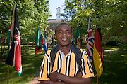 Spring Int. Week..Samuel Wai Johnson, Jr. Grad student from Liberia
