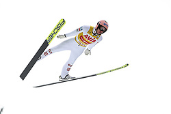 21.02.2020, Trambulina Valea Carbunarii, Rasnov, ROM, FIS Weltcup Ski Sprung, Herren, Wertungsdurchgang, im Bild Stefan Kraft (AUT) // during her competition jump for the men's FIS Ski Jumping World Cup at the Trambulina Valea Carbunarii in Rasnov, Romania on 2020/02/21. EXPA Pictures © 2020, PhotoCredit: EXPA/ Tadeusz Mieczynski