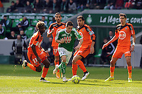 Romain HAMOUMA  - 08.03.2015 -  Saint Etienne / Lorient  -  28eme journee de Ligue 1 <br />