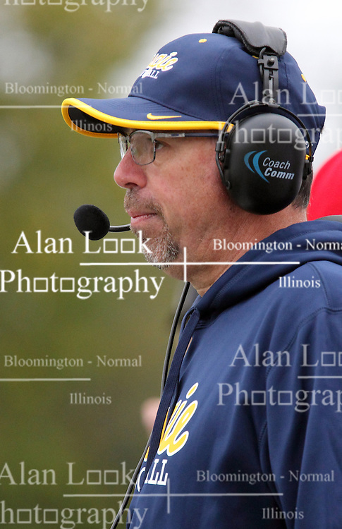 18 October 2014:  Rob Cushman during an NCAA division 3 football game between the Augustana Vikings and the Illinois Wesleyan Titans in Tucci Stadium on Wilder Field, Bloomington IL