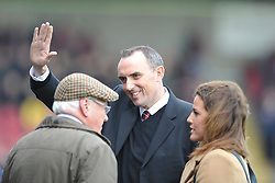 Northamptons New Chairman Kelvin Thomas, Northampton Town v Portsmouth, Sixfields, Sky Bet League 2, Saturday 19th December 2015