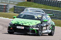 #99 Jack WALKER-TULLY  Cooke & Mason  Volkswagen Scirocco Milltek Sport Volkswagen Racing Cup at Rockingham, Corby, Northamptonshire, United Kingdom. April 30 2016. World Copyright Peter Taylor/PSP.