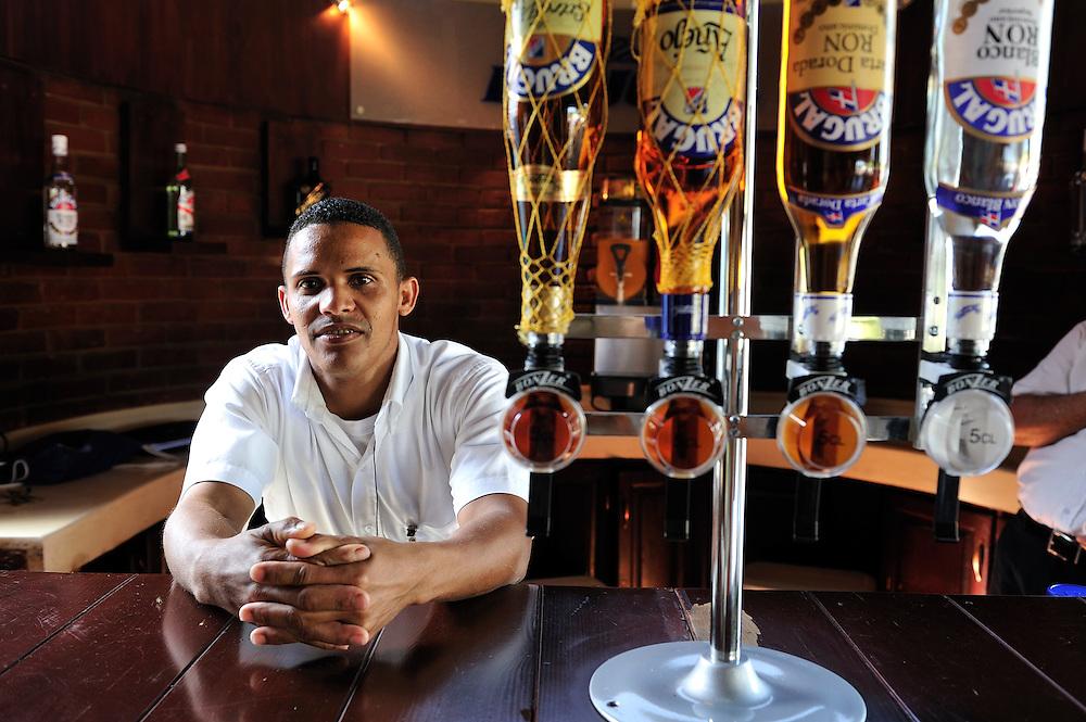 Ron Brugal Rum Distillery, Tasting room, Puerto Plata, Dominican Republic, Caribbean
