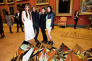 EDIE CAMPBELL; PETER PILOTTO; CHRISTOPHER DE VOS; LIBERTY ROSS, Event hosted by the Dutch Ambasador celebrating the achievements of Dutch and Belgian art and fashion. Wallace Collection. London. 15 February 2011.  -DO NOT ARCHIVE-© Copyright Photograph by Dafydd Jones. 248 Clapham Rd. London SW9 0PZ. Tel 0207 820 0771. www.dafjones.com.