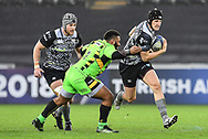 Ospreys' Scott Otten in action during todays match<br /> <br /> Photographer Craig Thomas/Replay Images<br /> <br /> EPCR Champions Cup Round 4 - Ospreys v Northampton Saints - Sunday 17th December 2017 - Parc y Scarlets - Llanelli<br /> <br /> World Copyright &copy; 2017 Replay Images. All rights reserved. info@replayimages.co.uk - www.replayimages.co.uk