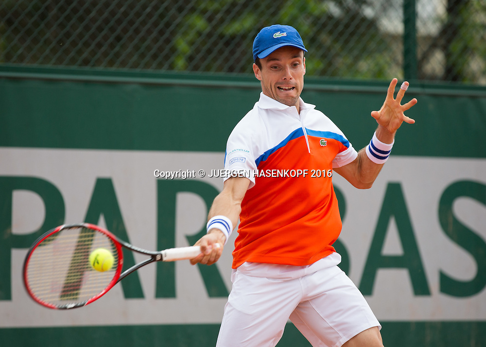 Roberto Bautista-Agut (ESP)<br /> <br /> Tennis - French Open 2016 - Grand Slam ITF / ATP / WTA -  Roland Garros - Paris -  - France  - 24 May 2016.