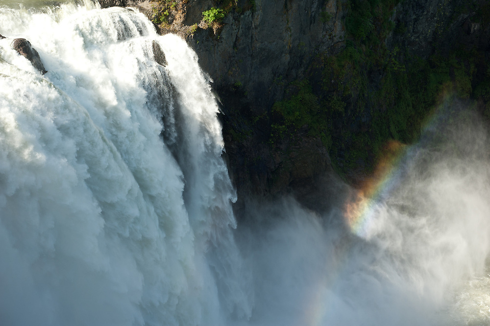 Snoqualmie Falls in Washington.