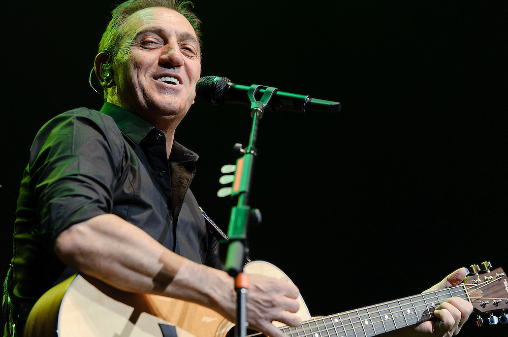 Photos of Latin singer and songwriter Franco De Vita performing on the En Primera Fila Tour at Radio City Music Hall, NYC. March 24, 2012. Copyright © 2012 Matthew Eisman. All Rights Reserved.