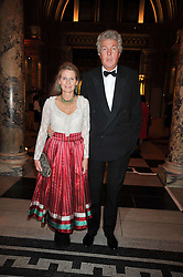 HENRY & RACHEL WYNDHAM he is the chairman of Sotheby's Europe at a dinner to celebrate the opening of 'Maharaja - The Spendour of India's Royal Courts' an exhbition at the V&A, London on 6th October 2009.