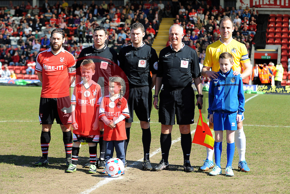 - Photo mandatory by-line: Neil Brookman/JMP - Mobile: 07966 386802 - 06/04/2015 - SPORT - Football - Kidderminster - Aggborough - Kidderminster v Bristol Rovers - Vanarama Football Conference