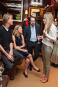 NICK ARCHDALE; EDWINA HICKS; BENEDICT MANN; MADDISON MAY BRUDENELL, Book launch for ' Daughter of Empire - Life as a Mountbatten' by Lady Pamela Hicks. Ralph Lauren, 1 New Bond St. London. 12 November 2012.