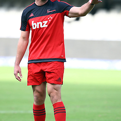 DURBAN, SOUTH AFRICA - MARCH 26: Kieran Read (C) of the BNZ Crusaders during the Super Rugby match between Cell C Sharks and BNZ Crusaders at Growthpoint Kings Park on March 26, 2016 in Durban, South Africa. (Photo by Steve Haag)<br /> <br /> images for social media must have consent from Steve Haag
