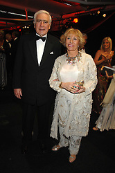SIR SIDNEY & LADY LIPWORTH at the British Red Cross Gala Ball 2007 themed 'East Meets West' held at Old Billingsgate, 16 Lower Thames Street, London on 5th June 2007.<br />