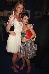 Left to right, OLIVIA INGE and JAMIE WINSTONE at the Royal Academy of Arts Summer Exhibition Party at the Royal Academy, Piccadilly, London on 6th June 2007.<br />