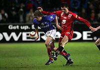 Fotball, 17. april 2005, Tippeligaen, Vålerenga - Brann 2-1, Paul Scharner, Bran og Christian Grindheim, Vålerenga