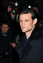 © Licensed to London News Pictures. 06/02/2012.  England. Matt Smith attends the Evening Standard Film Awards at County Hall westminster London Photo credit : ALAN ROXBOROUGH/LNP