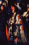 USA; Amerika; Plains indian; woman; dancer; Rose Ann Abrahamson; Lemhi; Shoshone; Sacajaweah; pow wow traditional; indian; native; culture; cultural; regalia; proud woman