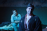 "Bay Area Stage presents ""Kiss of the Spider Woman"" starring Peter Del Fiorentino and Drew McMillan at the Missouri Street Theatre in Fairfield, CA. Photo by Mike Padua. November, 2010."