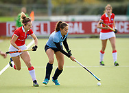 NIJMEGEN - 2017 Hoofdklasse dames<br /> Nijmegen v Hurley<br /> Foto: Klaartje Mientjes.<br /> WORLDSPORTPICS COPYRIGHT FRANK UIJLENBROEK