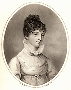 Elizabeth Smith (1776-1806) English oriental scholar born near Durham. Stipple engraving.