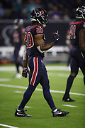 Houston Texans defensive back Justin Reid (20) in action during the NFL week 8 regular season football game against the Miami Dolphins on Thursday, Oct. 25, 2018 in Houston. The Texans won the game 42-23. (©Paul Anthony Spinelli)