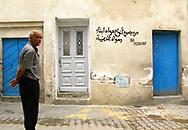 Man in the Medina of Tunis, 2008.