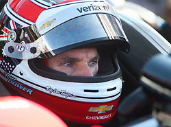 March 9, 2019 - St. Petersburg, Florida, U.S. - DIRK SHADD   |   Times  .IndyCar driver Will Power in the cockpit of his car in pit lane before he takes to the track for an IndyCar practice session at the Grand Prix of St. Petersburg in St. Petersburg on Saturday, March 9, 2019. (Credit Image: © Dirk Shadd/Tampa Bay Times via ZUMA Wire)
