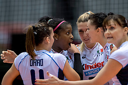 17-05-2016 JAP: OKT Dominicaanse Republiek - Italie, Tokio<br /> Italië verslaat Dominicaanse Republiek  met 3-0 / Miriam Fatime Sylla #16 of Italie