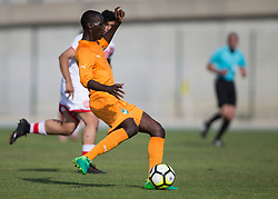 AUBAGNE, FRANCE - Tuesday, May 30, 2017: Ivory Coast's Aboubacar Sidiki Kouyate in action during the Toulon Tournament Group B match between Bahrain and Ivory Coast at the Stade de Lattre-de-Tassigny. (Pic by Laura Malkin/Propaganda)
