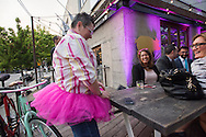 Planned Parenthood Party at Low Brau, in downtown sacramento, April 20, 2015.