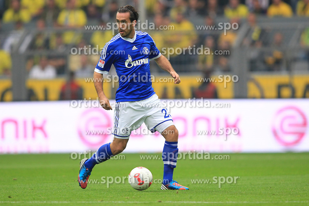 20.10.2012, Signal Iduna Park, Dortmund, GER, 1. FBL, Borussia Dortmund vs Schalke 04, 8. Runde, im Bild Christian FUCHS (Schalke 04 - 23) Freisteller // during the German Bundesliga 8th round match between Borussia Dortmund and Schalke 04 at the Signal Iduna Park, Dortmund, Germany on 2012/10/20. EXPA Pictures © 2012, PhotoCredit: EXPA/ Eibner/ Ben Majerus..***** ATTENTION - OUT OF GER *****